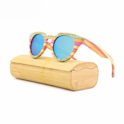 lunette de soleil bambou color - Bambou Color